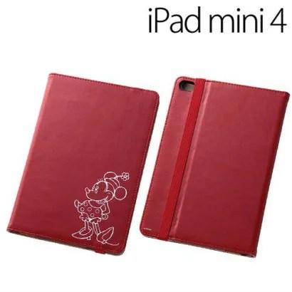 ディズニーキャラクターがアクセントに!さりげなくかわいいiPad mini4ケース