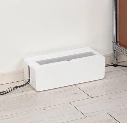 【イノマタ化学】電源タップを丸ごと収納!テーブルタップボックス