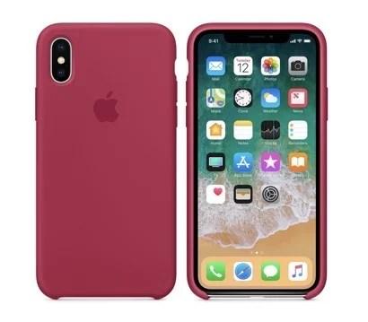 【Apple純正】iPhone Xシリコンケース
