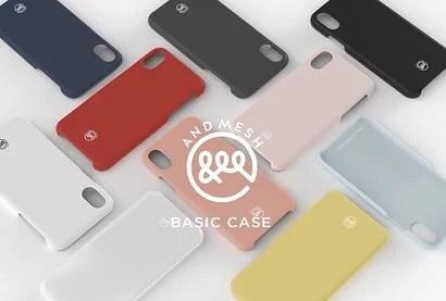 【AndMesh】Basic Case 細部までこだわりの見える薄型ケース