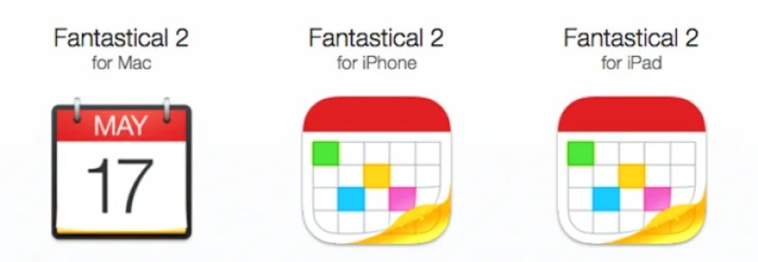Fantastical 2 for iPhoneとfor iPad
