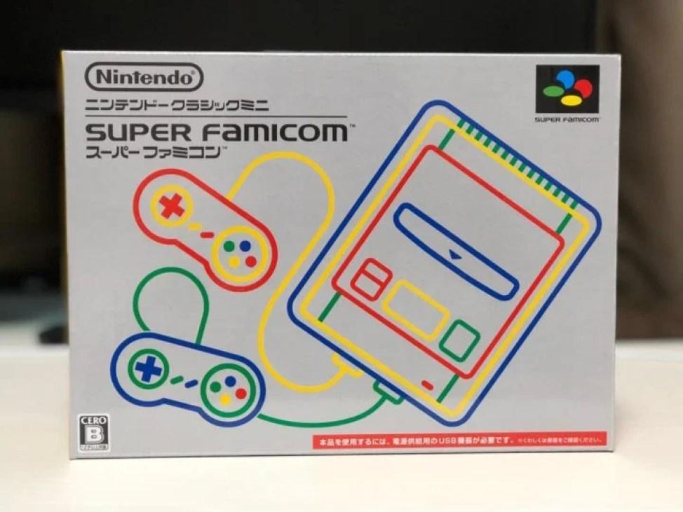 スーパーファミコン ミニ 外箱表