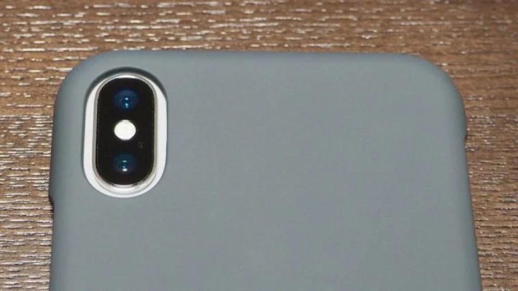 iPhone X用AndMesh Basic Case 背面カメラまわり1