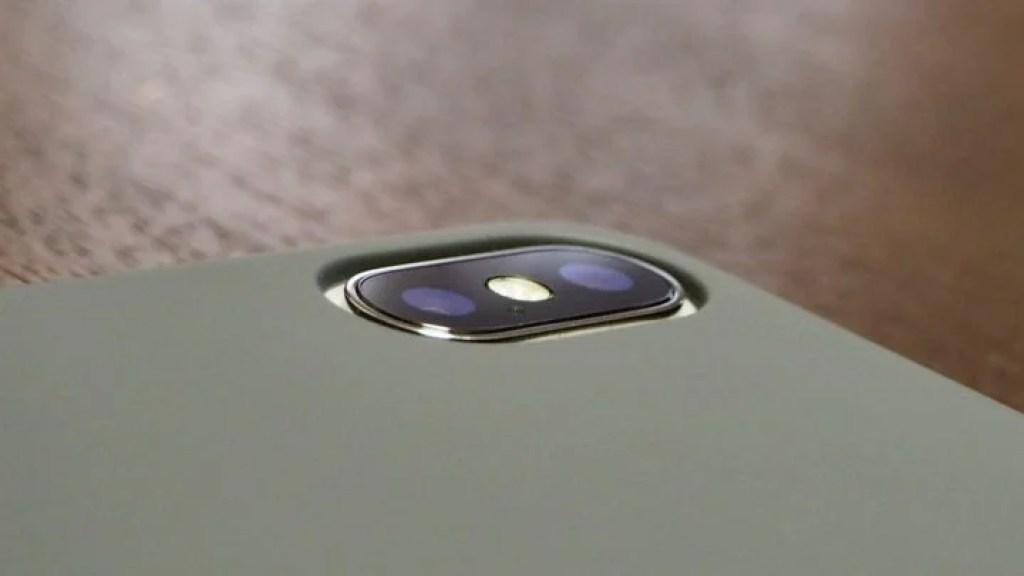 iPhone X用AndMesh Basic Case 背面カメラまわり2