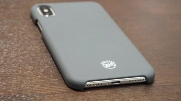 【レビュー】iPhone X用ケース「AndMesh Basic Case」超薄型設計&マットな質感がいい!