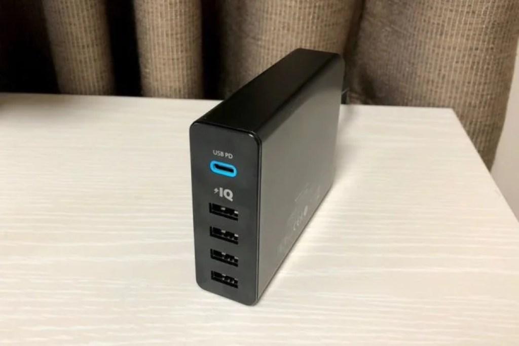 Anker PowerPort+ 5 USB-C Power Derivery