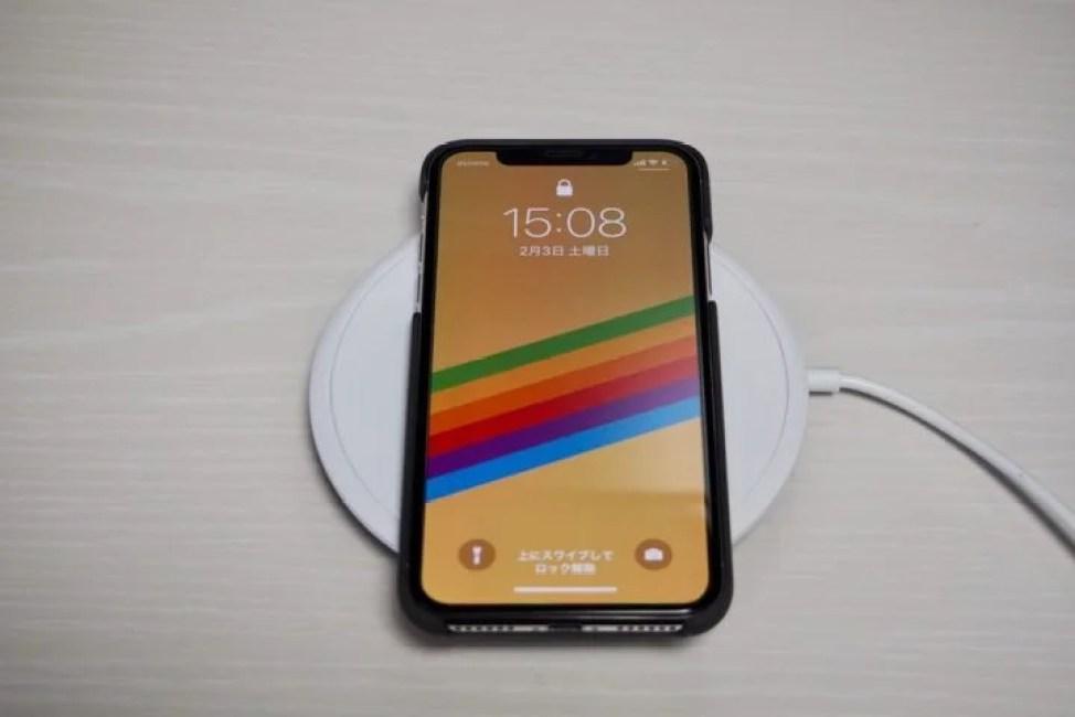Freedy ワイヤレス充電器とiPhoneX