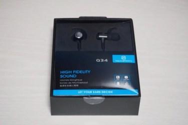 【レビュー】apt-X対応で高音質!コスパ抜群の「SoundPEATS Q34」