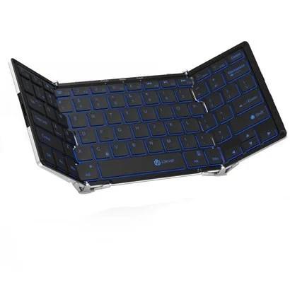 【iClever】バックライト搭載の折りたたみフルサイズキーボード