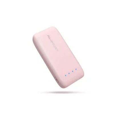 RAVPower 6700mAhの軽量・小型のモバイルバッテリー 桜ピンク