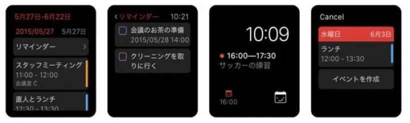 Fantastical2(Apple Watch)