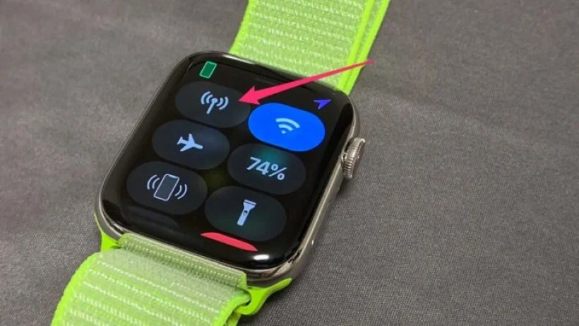 Apple Watch 4のLTE通信はほとんどオフ