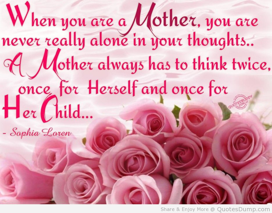 Family-Quotes-When-You-Are-Mother-Quote-With-Picture-The-Bucket-Of-Rose