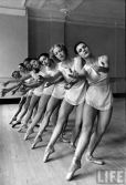 Balanchine's School of American Ballet was formed