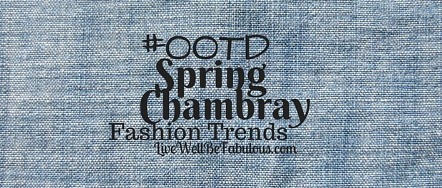 #OOTD Spring Chambray Fashion Trends