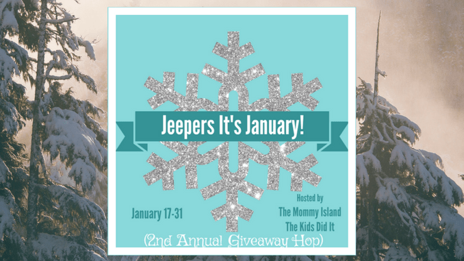 2017 Jeepers It's January Giveaway Hop