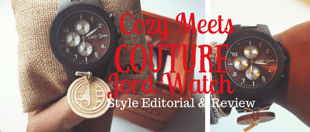 Cozy Meets Couture Jord Watch Style Editorial Giveaway