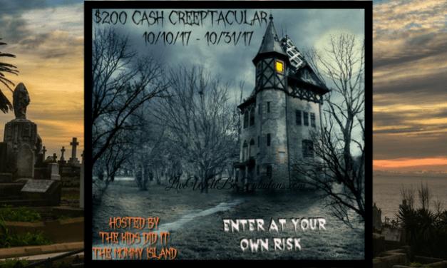 $200 Cash Creeptacular Giveaway