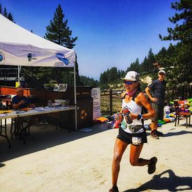 Vespa and UltrAspire Athlete Bree Lambert gets 1st Overall Female at Tahoe Rim Trail 100 Mile Endurance Run