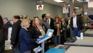 Some of the attendees shopping our mattresses