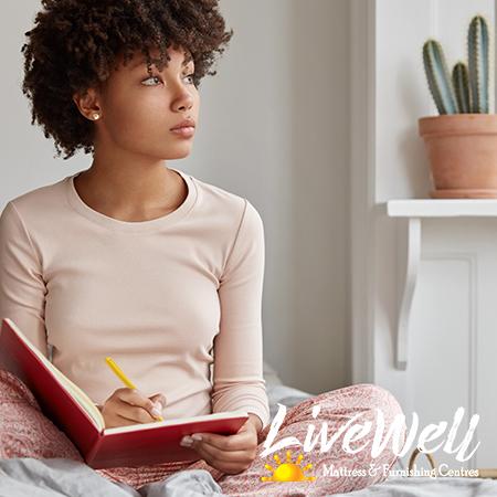 Use a sleep journal to find better sleep