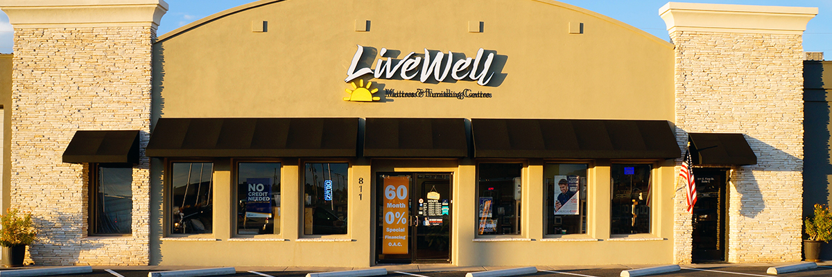 Live Well New store front