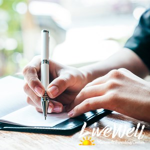 Writing a Sleep Journal can help you find better sleep