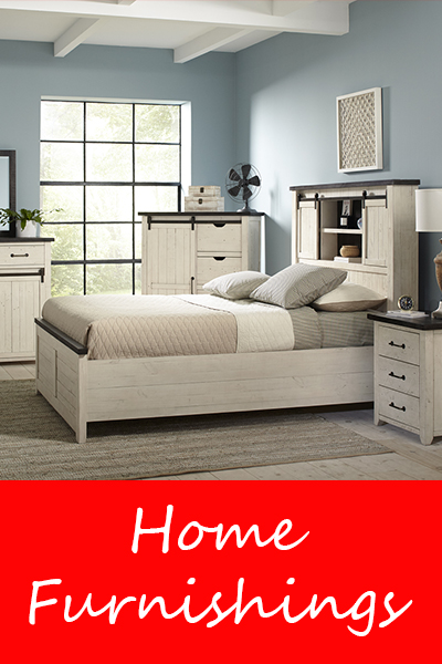 Home furnishings and furniture available at Live Well Mattress & Furnishing Centres