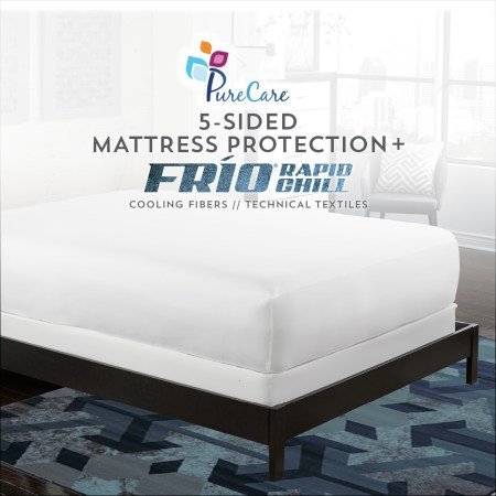 Frio 5 sided mattress protectors by PureCare