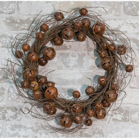 Vintage Jiggle Bell wreath