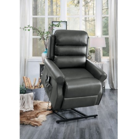 Jareth Power lift chair in lift position