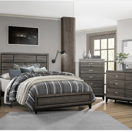 Davi Modern Styled Bedroom Set