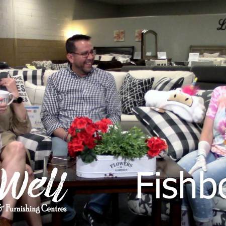 Javier Casillas, Gretchen Casillas, and Melanie Keithley on The Fishbowl, Live Well Mattress & Furnishing Centres weekly podcast