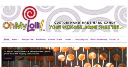 screenshot_oh my lolli | website design by Rockwell Art & Design | www.livewellrockwell.com