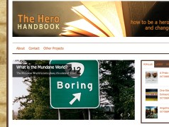 screenshotherohandbook | website design by Rockwell Art & Design | www.livewellrockwell.com