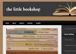 screenshotlittlebookshop | website design by Rockwell Art & Design | www.livewellrockwell.com