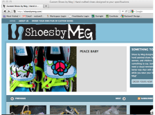shoes-by-meg_screenshot | website design by Rockwell Art & Design | www.livewellrockwell.com