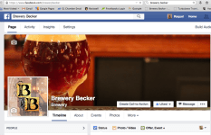 Brewery Becker | marketing photography social media management website | by Rockwell Art and Design