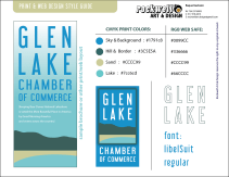 GLEN LAKE final style guide 2013 by Rockwell Art & Design