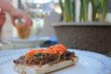 Banh Mi pulled pork sandwich