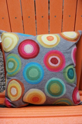 pillow and adirondeck chair Northwoods Hardware Glen Arbor