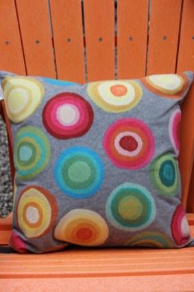 pillow and adirondeck chair Northwoods Hardware Glen Arbor