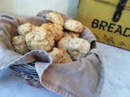 easy homemade buttermilk gluten free drop biscuits
