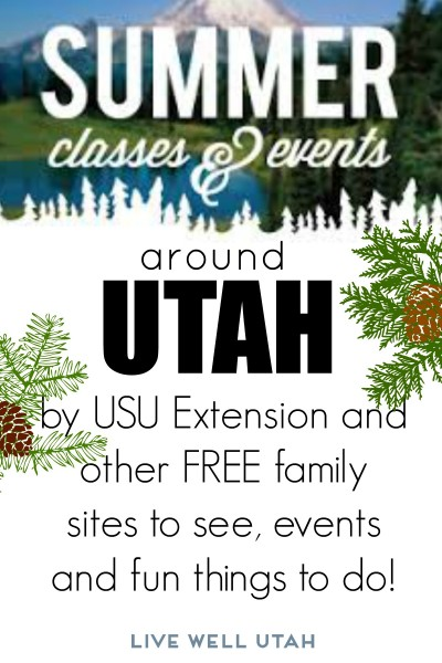 summer classes in Utah - livewellUtah.org