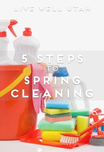 5 Steps to Spring Cleaning