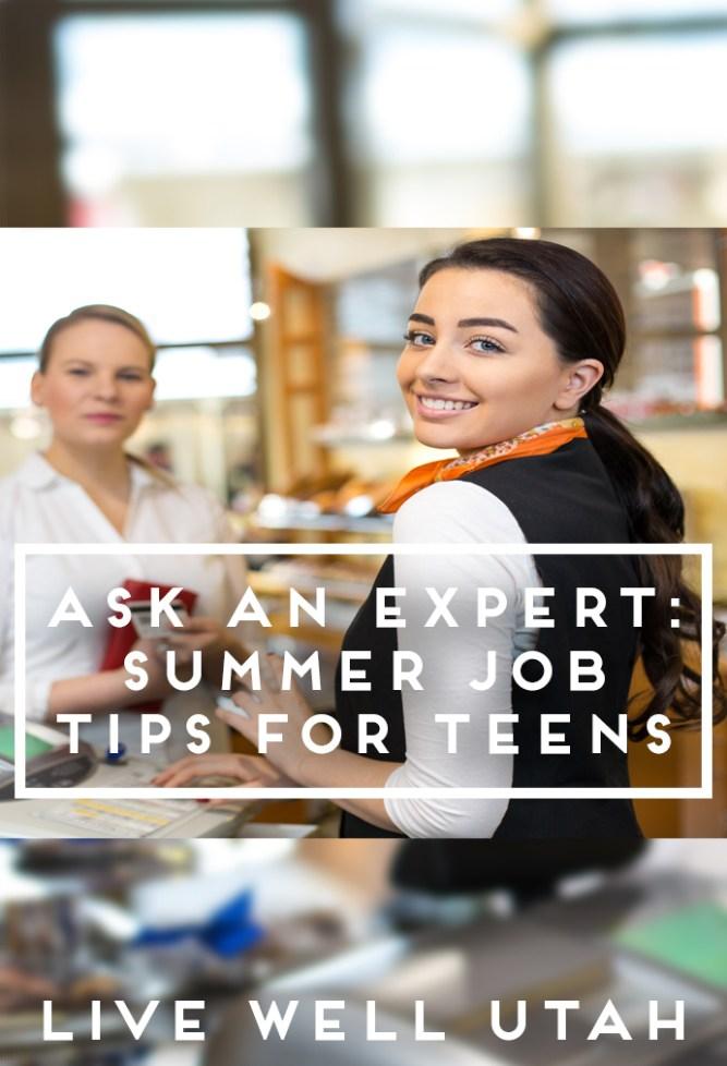 Job Tips for Teens