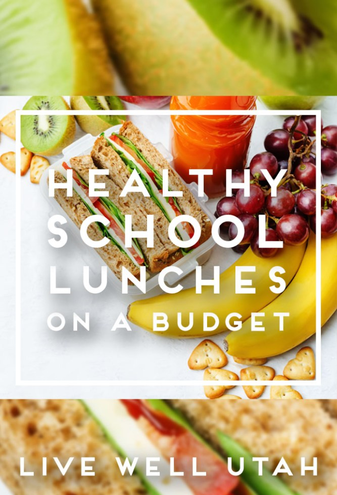 Healthy School Lunches Graphic