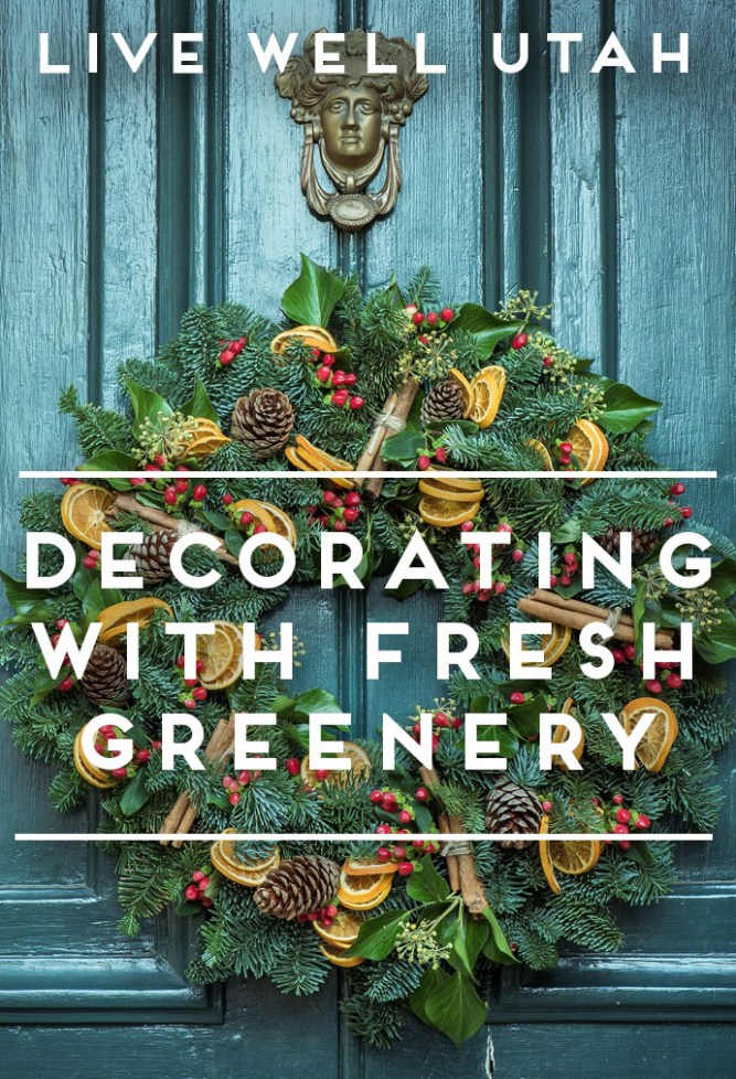 fresh greenery - Fresh Christmas Greenery