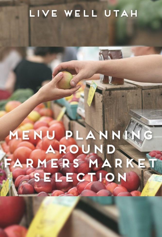 Menu Planning Farmers Market