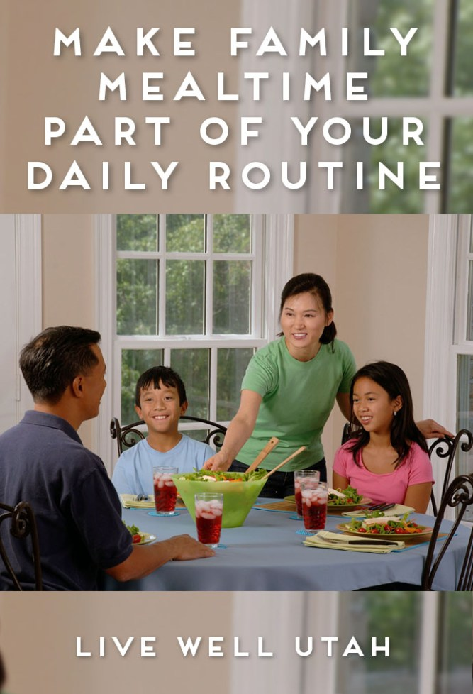 Family Mealtime Routine